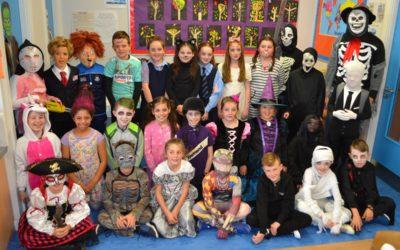 Hallowe'en in St. Paul's: Class Photographs