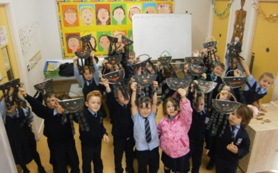 Spooky Spiders in Senior Infants