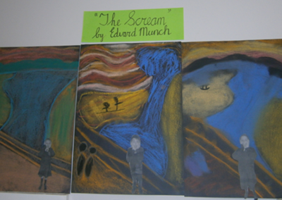 The Scream (Ms. Broderick's)