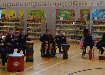Drumming Workshop for 1st & 2nd Class