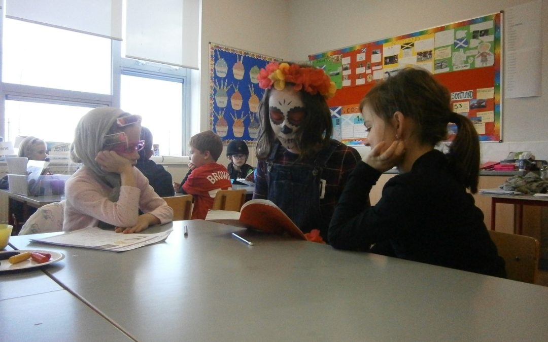 Paired Reading During Book Week