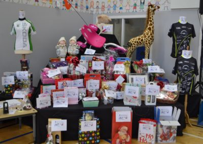 Our amazing raffle prizes
