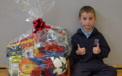 Congratulations to our Prize Winners in our School Raffle!