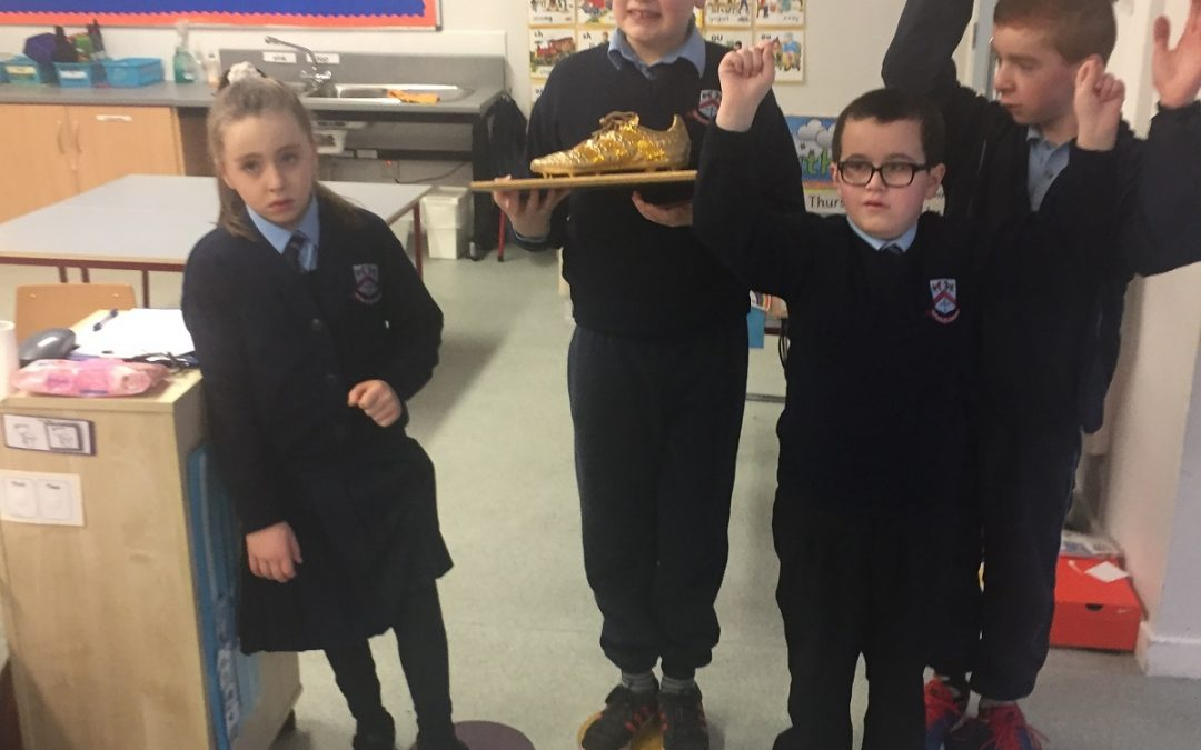 Room 25 win the Golden Boot!!