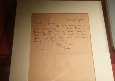 A letter from Joseph Plunkett to Grace