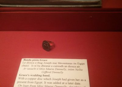 Grace Gifford's wedding ring
