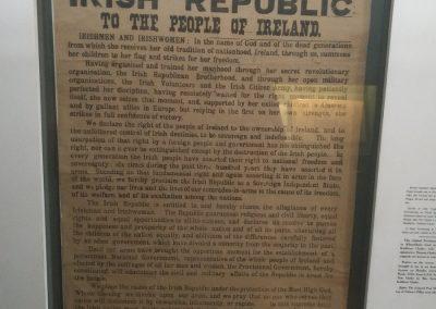 Original copy of proclamation
