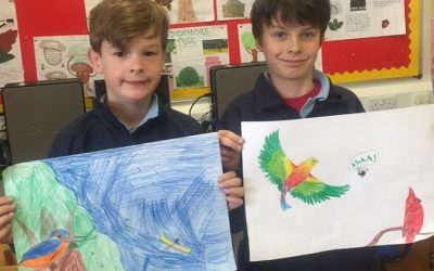 Third Class are 'flying' in Art!