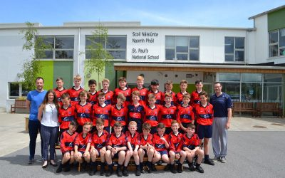 St. Paul's Boys Footballers Qualify for the Meath County Final