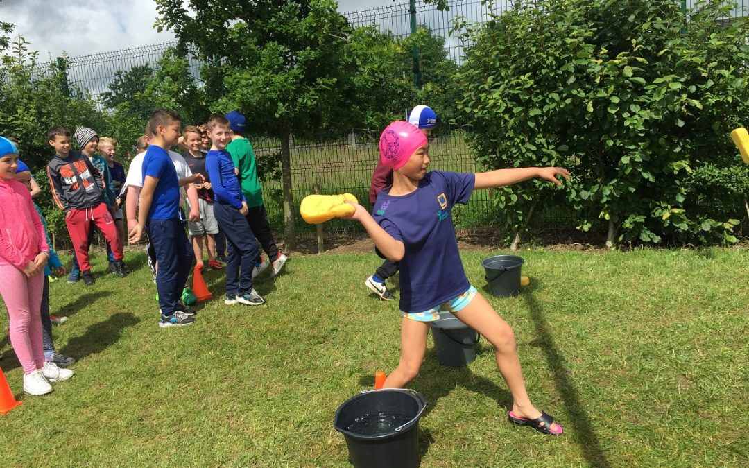 More Active Week Fun in Third Class!
