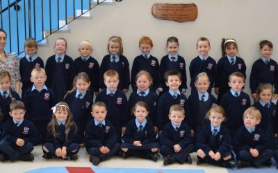 Hello to our new Junior Infants!