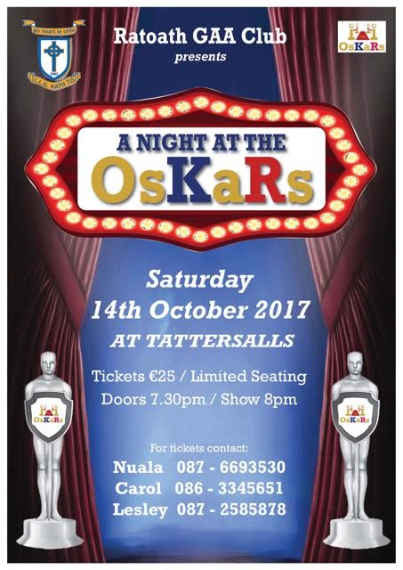 Ratoath GAA Club OsKaRs Night