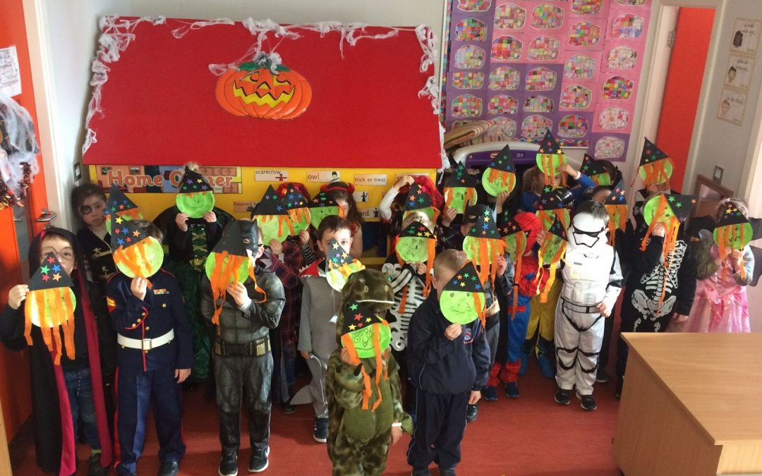 Happy Hallowe'en from Room 1!