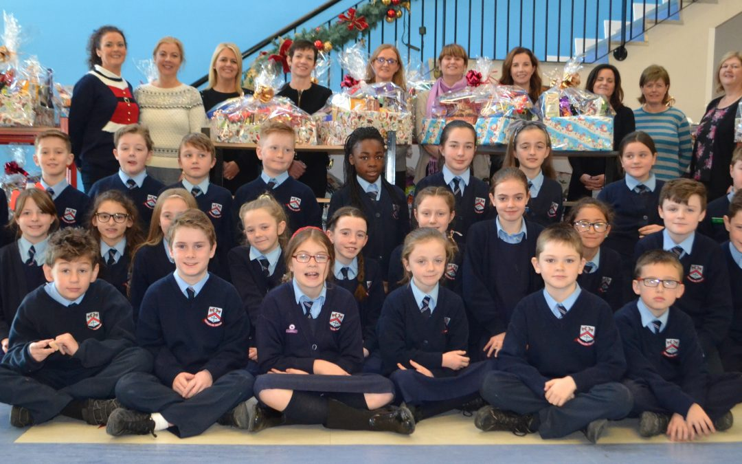 Forty Eight Hampers for the St. Vincent de Paul!