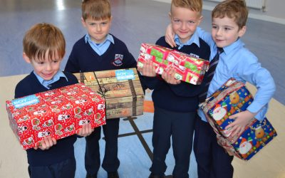 Shoe Box Donations