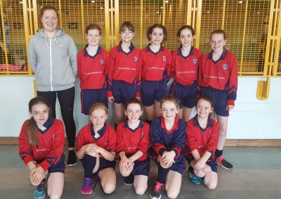 Girls U11 Olympic Handball Team
