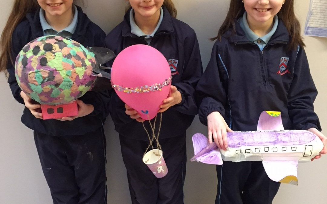 Terrific Transport Projects in Third Class!