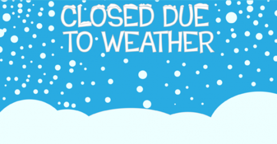 School closed on the 28th February, 1st & 2nd of March