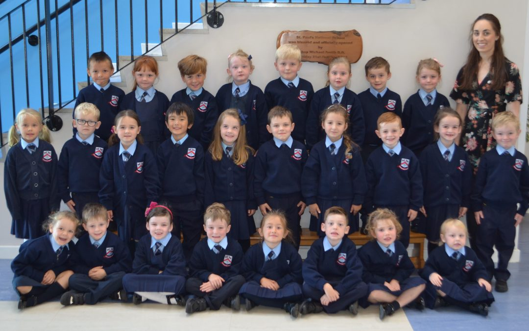 Welcome to our new Junior Infants!