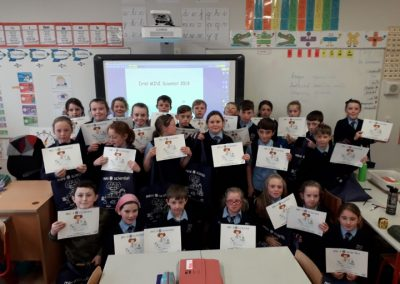 Ms Broderick's 4th Class