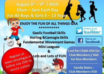Ratoath GAA Camp