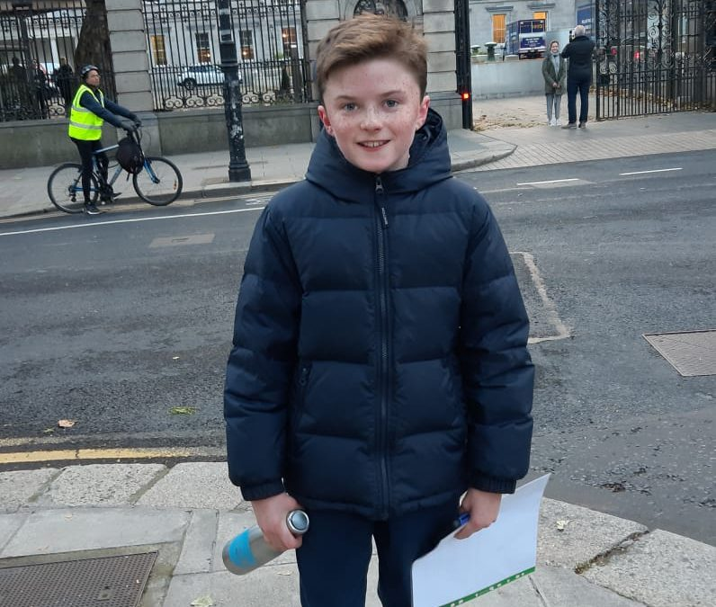 Harry Bogan – Youth Assembly on Climate Change