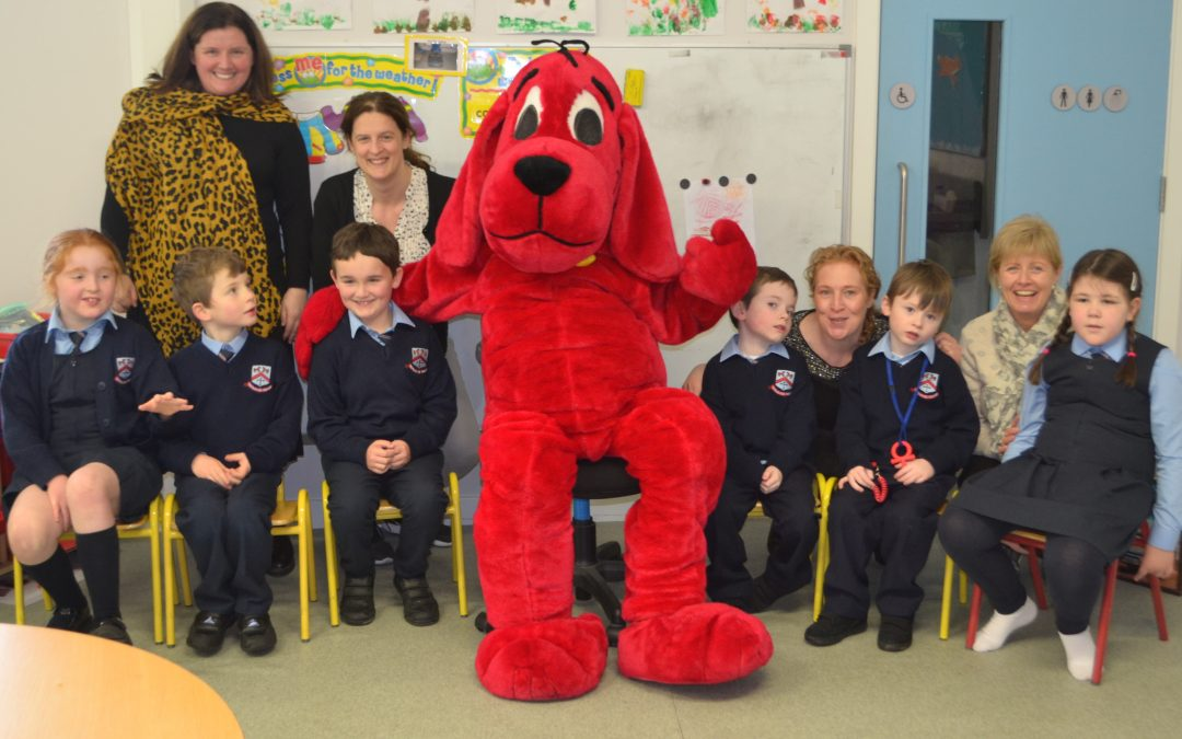 Clifford Visits Room 26