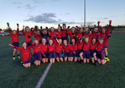 Girls' Senior Footballers Make History