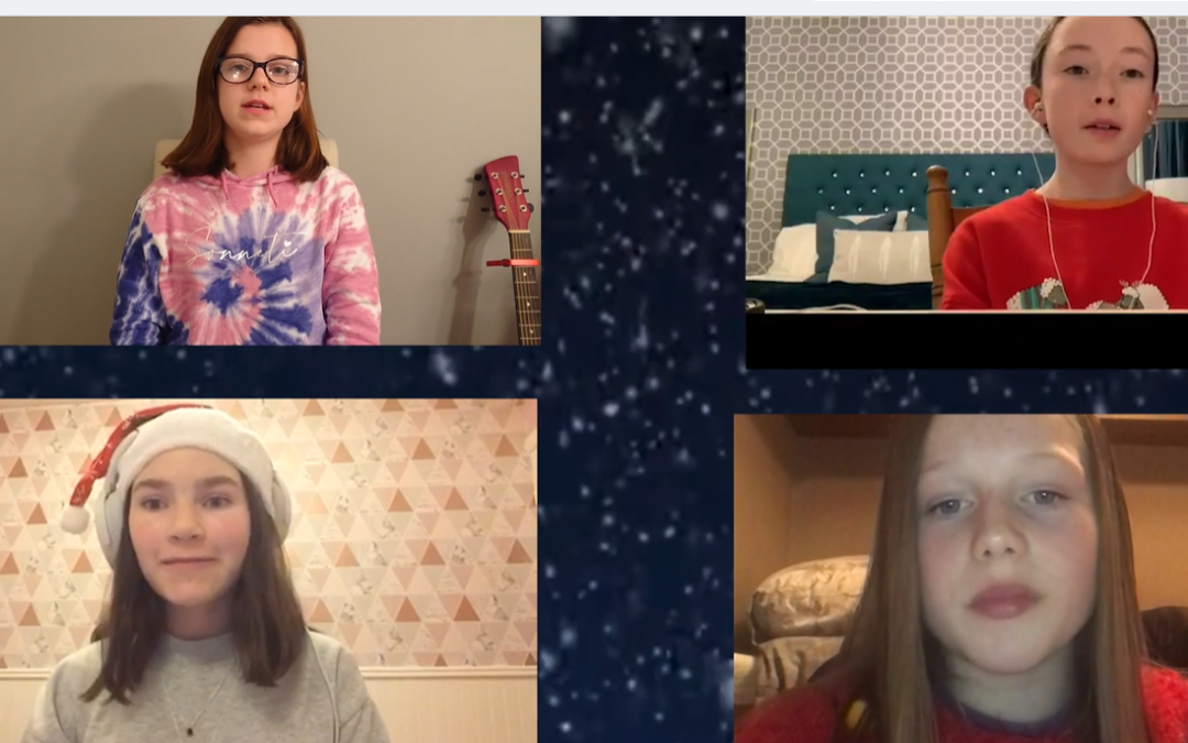 Virtual Choir Christmas Performance