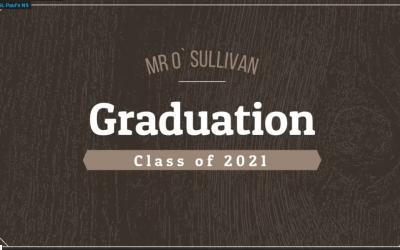 Mr. O'Sullivan's 6th Class Graduation Video 2021